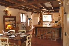 La Chataigne large farmhouse kitchen