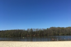 Rouffiac Lake (a swimming lake with beach) is a 30 mins drive from Les Taloches.